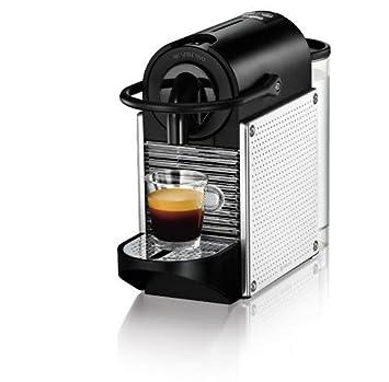 Magimix M110 Pixie - Cafetera (Independiente, Negro, Acero inoxidable, Cápsulas, Café