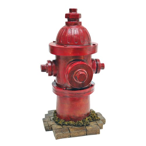 Design Toscano QL5468 Dog's Second Best Friend Fire Hydrant Statue, Single