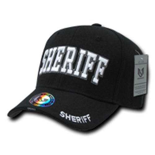 [Embroidered Law Enforcement Sheriff Adjustable 100% Acrylic Baseball Cap/Hat, Comfort Fit Color:] (Sheriff Hats For Sale)