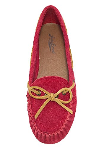 Lucky Brand Rasberry Suede Leather Slipper Lp-abelle2 Sho...