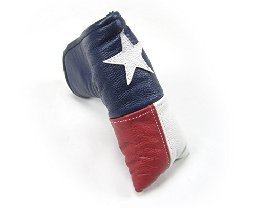 - Sunfish Leather Putter Cover - Lone Star