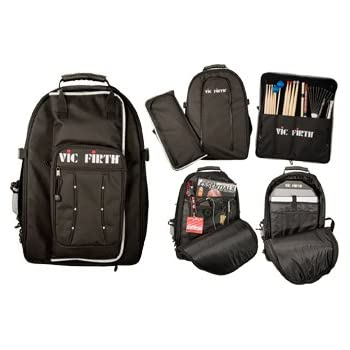 Vic Firth VICPACK Drummers Backpack - amazon.com