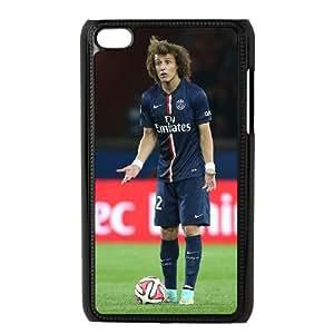 David Luiz iPod Touch 4 Case Black DIY Ornaments xxy002-3695715