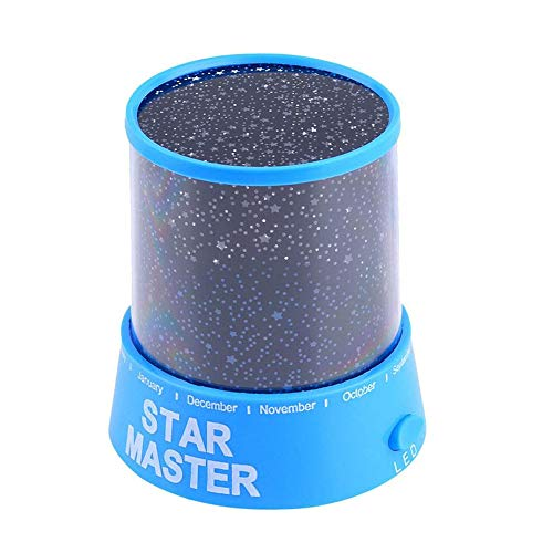 Vacally Rotatable Star Master Projector Night Lights Romantic Starry Projection Lamp for Kids Multicolor Bedroom Bedside Table Lamp for Home Decor