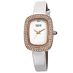 Women's Rectangular Swarovski Crystal Watch