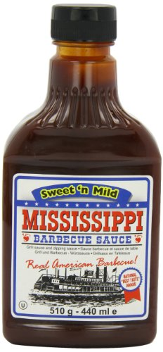 Mississippi BBQ BBQ Sauce, Sweet 'n Mild, 18-Ounce (Pack of 6) (Best Barbecue In Mississippi)