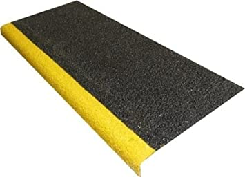 Anti Slip Stair Tread Covers GRP 500mm, 750mm 1000mm (1000mm) Anglia Composites