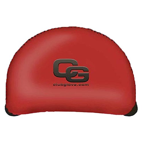 Mallet Putter Clubs (Club Glove Golf Regular Gloveskin Mallet Putter Cover (Red))