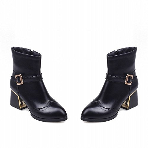 Talloni Delle Donne Latasas Tacchi Chunky Short Jodhpur Fall Boots Black