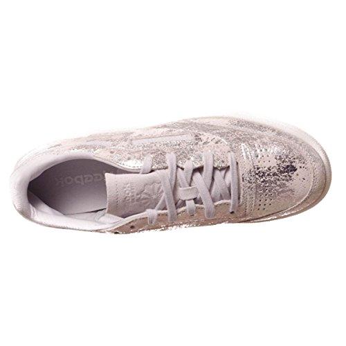 donna TEXTURAL CLUB scarpe basse Metallic 85 BS6786 REEBOK sneakers C wSU7WP