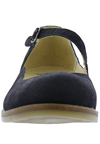 Fly London Ladies Alky213fly Chiuse Ballerine Nere