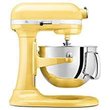 KitchenAid KP26M1XMY Professional 600 Series 6-Quart Bowl-Lift Stand Mixer, Majestic Yellow