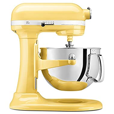 KitchenAid KP26M1XMY 6-Qt. Professional 600 Series - Majestic Yellow
