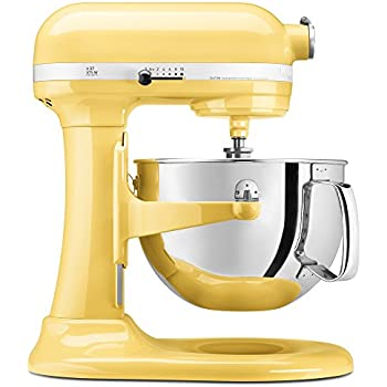 Charming KitchenAid KP26M1XMY 6 Qt. Professional 600 Series Bowl Lift Stand Mixer    Majestic Yellow