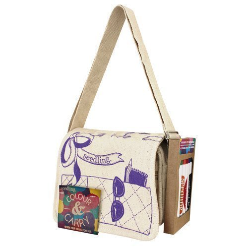 Farbe and Carry Design Your Own Tote Satchel Kit by Seedling