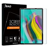 [1 Pack] Jbao Direct Compatible Samsung Galaxy Tab S5e Screen Protector, [Scratch Resistant][Anti-Fingerprint][Bubble Free] Tempered Glass for Samsung Galaxy Tab S5e [SM-T720 (Wi-Fi); SM-T725 (LTE)]