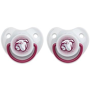 Amazon.com: NCAA ortodoncia chupete 2 Pack, producto oficial ...