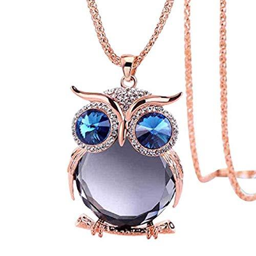 vetro collana in cabochon offerte liquidazione regalo gufo Fittingran Porpora gioielli donne ciondolo collana offerte Liquidazione zPgBwxqg