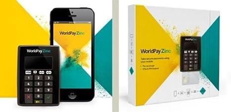 World Pay Zinc >> Worldpay Zinc Chip And Pin Reader Amazon Co Uk Electronics