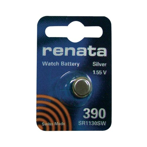 Telephone 390 - Silver Oxide Button Cell Battery 390 by Renata