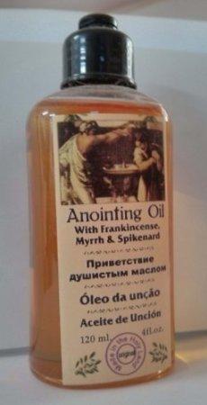 Anointing Oil with Frankincense, Myrrh and Spikenard 120ml