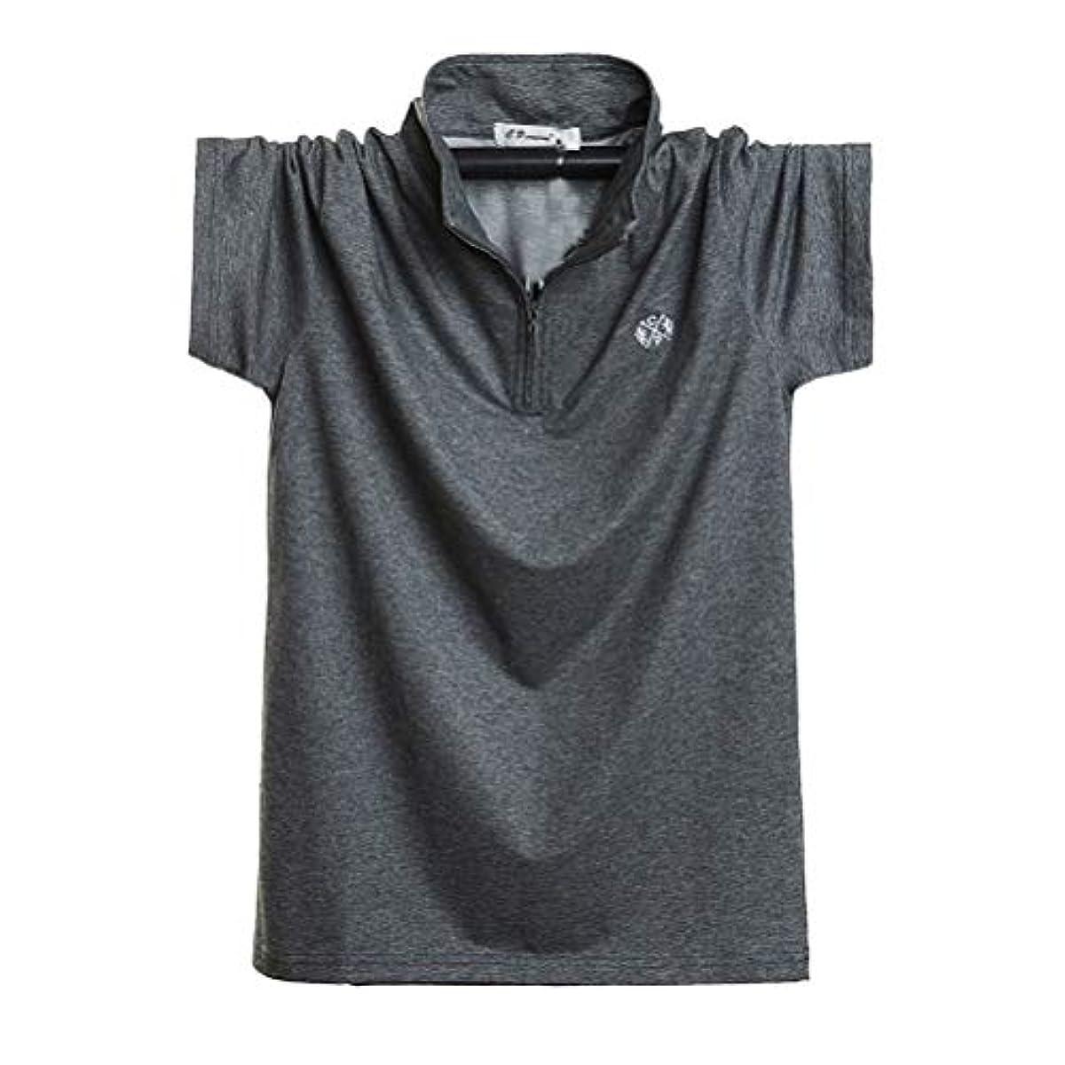 [해외] YIGAR 맨즈 폴로 셔츠 반소매 긴 소매 T셔츠 맨즈 골프 셔츠 큰 사이즈 캐주얼 심플 금부착 패션 스포츠 멋있 실내복 쾌적 흡한 속건하 다색선택 M~6XL 8899