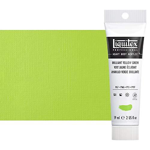 Liquitex Professional Heavy Body Acrylic Paint, 2-oz Tube, Brilliant Yellow Green