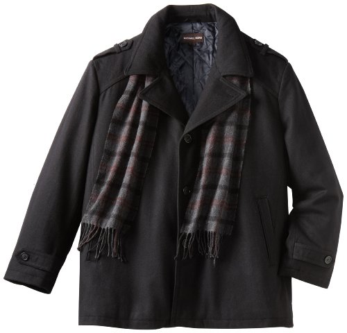 Michael Kors Men's Big Scarf Coat
