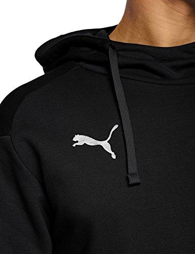 Puma À Casuals Noir Liga black Homme Sweatshirt Capuche puma White rOCrq