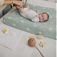 Mimuselina Cambiador Bebé de Sobremesa con Funda | Cambiador Gomaespuma, Impermeable, Incluye Funda Ajustable y Lavable…
