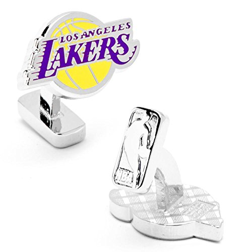 Palladium LA Lakers Cufflinks with New Collectible Gift Box by NBA