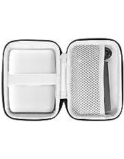 khanka Eva Borsa da Viaggio Custodia Caso Scatola per FUJIFILM Instax Mini Link Portable Bluetooth Wireless Smartphone Printer (Fodera grigia)