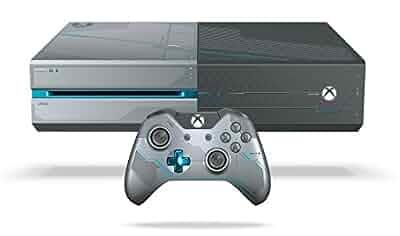 Amazon com: Xbox One 1TB Console - Limited Edition Halo 5