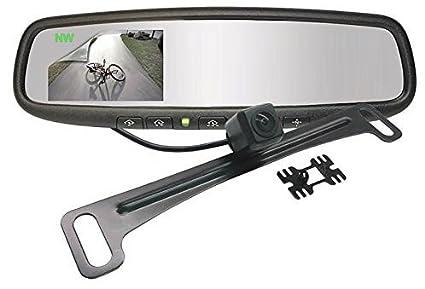 Gentex alta definición cámara trasera pantalla espejo con brújula ...