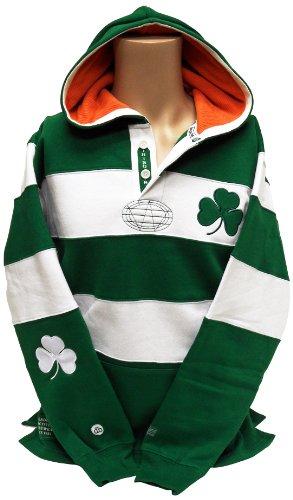 (Ireland Rugby Shirt Hoodie,)