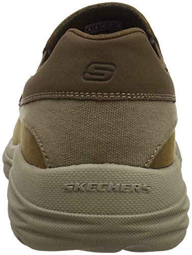 Skechers Harsen 5 Ortego 41 Size Brown Shoes rrxPAn6qOw