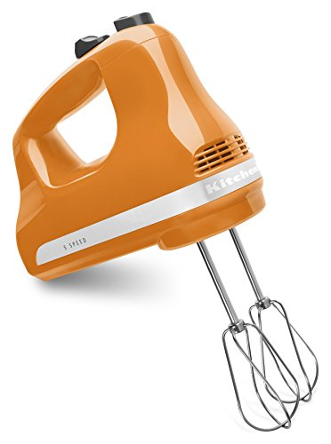 (KitchenAid KHM512TG 5-Speed Ultra Power Hand Mixer, Tangerine)