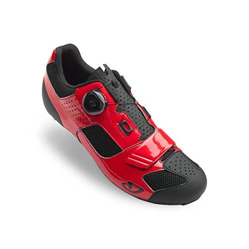 Giro Trans Boa Fietsschoenen - Heren Felrood / Zwart