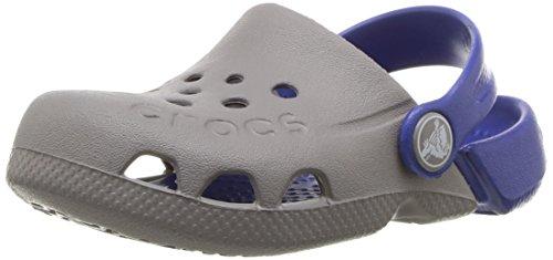 Crocs Crocband Fun Lab Light-up Clog, Grey, C5 M US Toddler