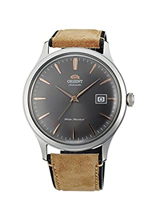 Reloj Orient para hombre automático, de estilo retro, con esfera gris AC08003A.: Amazon.es: Relojes