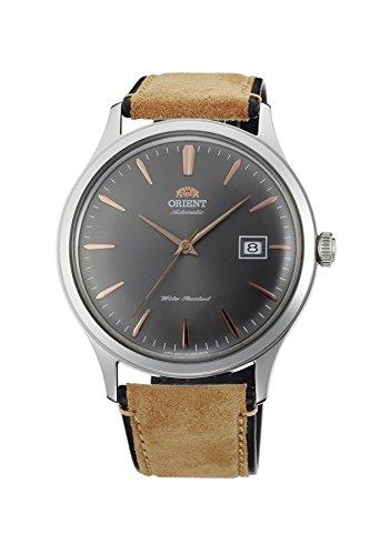 Reloj Orient para hombre automático, de estilo retro, con esfera gris AC08003A.