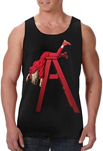 Billie Eilish 男性用 アスレチック 速乾 袖なしクタンク Tシャツ ジム用