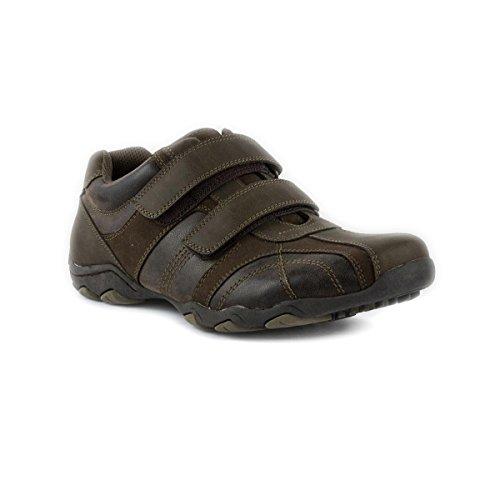 Herren-Beckett Beckett braun Suedette Klettverschluss Schuh, Braun - braun - Größe: 40 EU