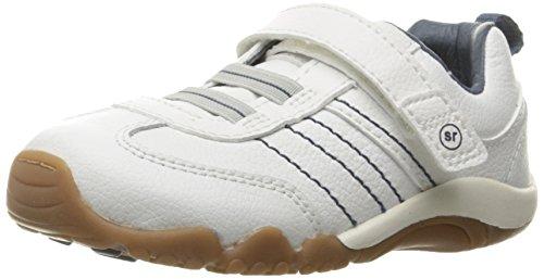 Stride Rite SRTech Prescott Sneaker (Toddler), White, 4 M US - Rite Sneakers Stride Lightweight