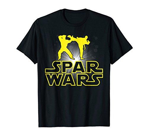 Spar Wars MMA Karate Kung Fu Martial Arts T Shirt Gift