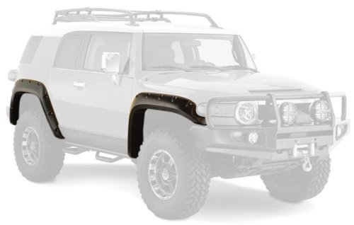 Price comparison product image Bushwacker 31922-02 Toyota Pocket Style Fender Flare - Set of 4