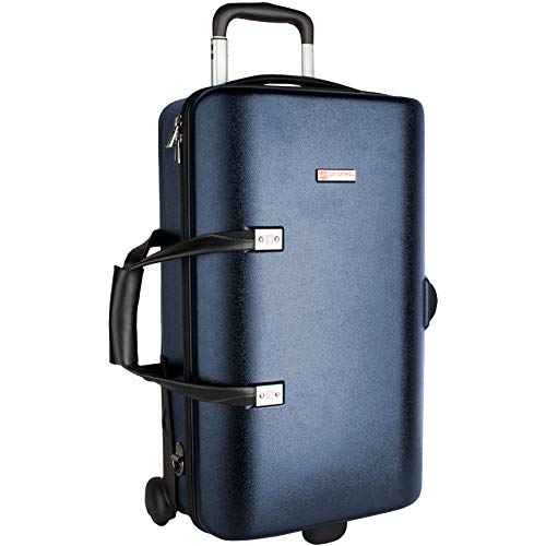 Protec NEW! Single/Double/Triple Horn ZIP Case with Wheels Trumpet (BLT301TBX)