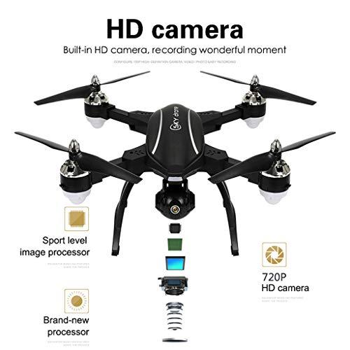 MOZATE LE IDEA LD-220 Foldable 2.4Ghz 2MP WiFi FPV 720P HD RC Quadcopter Selfie Drone (Black) by MOZATE (Image #5)