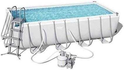 Piscina Desmontable Tubular Bestway Power Steel 488x244x122 cm ...