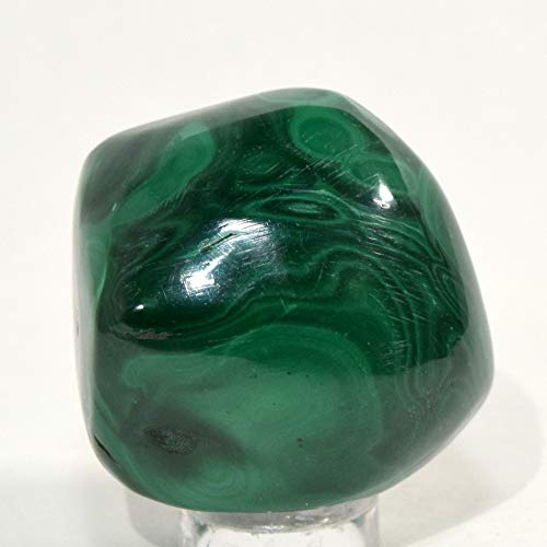 300 Carat Green Malachite Cabochon Pebble Banded Natural Mineral Striped Crystal Polished Gemstone Cab - ()